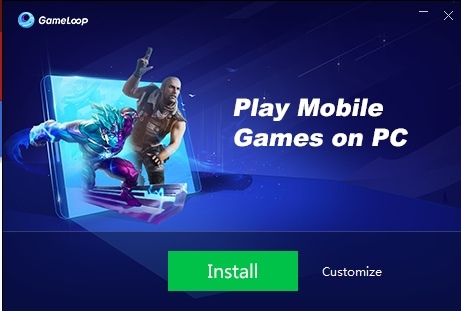 Gameloop a web amulator to play mobile games