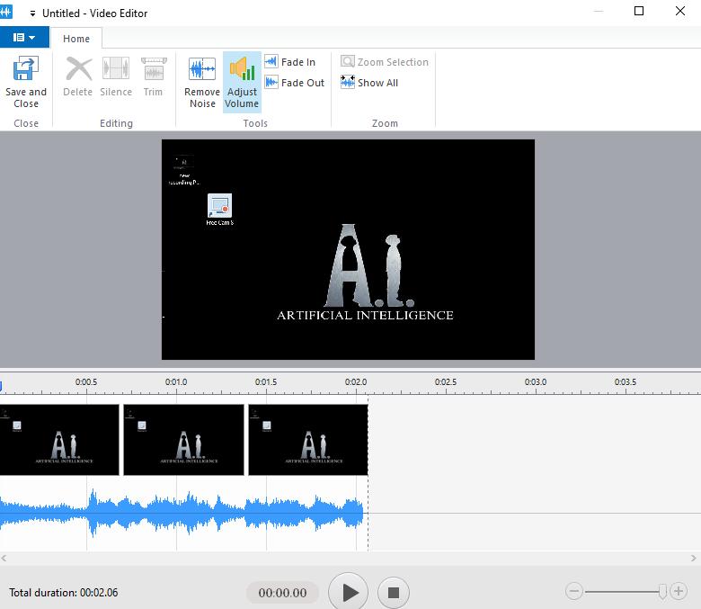 Editing Video on FreeCam