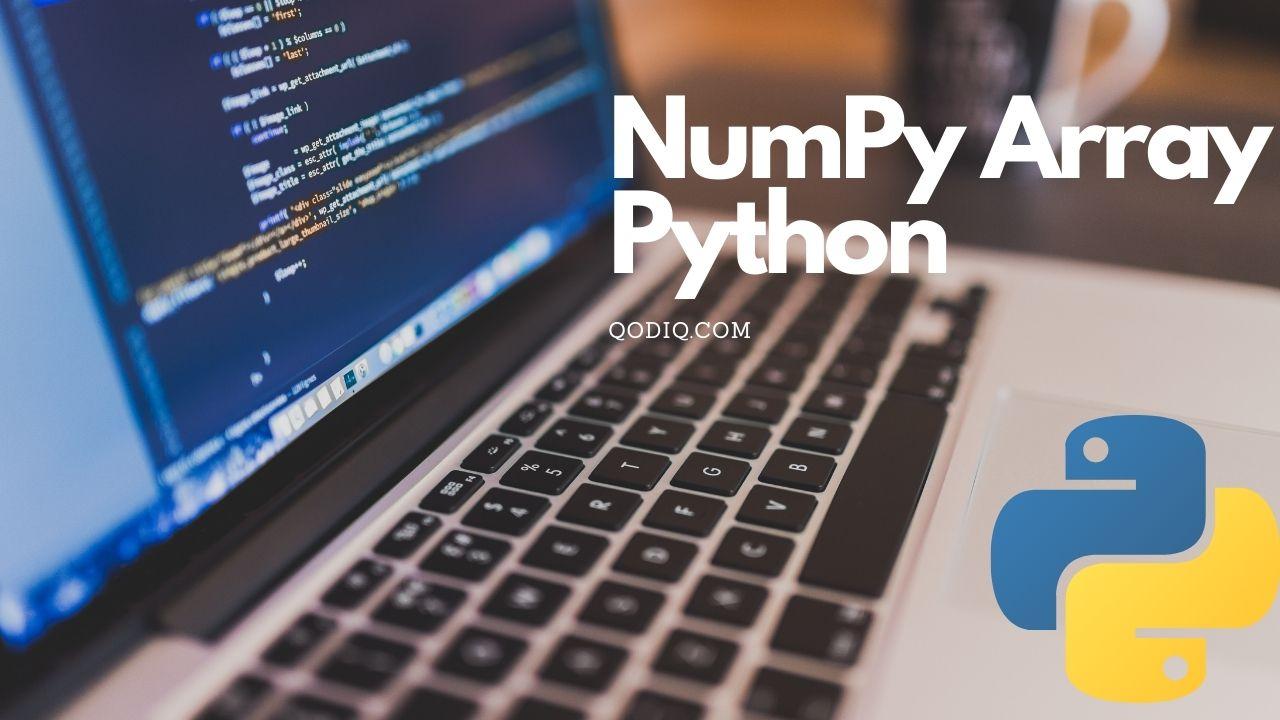 Numpy array Python